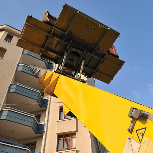 Elevador por fachada
